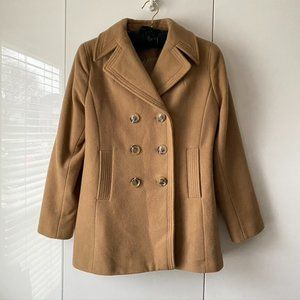 Kenneth Cole Reaction double breasted peacoat 12